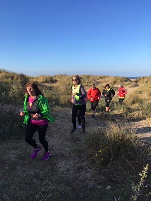 Sand dunes training