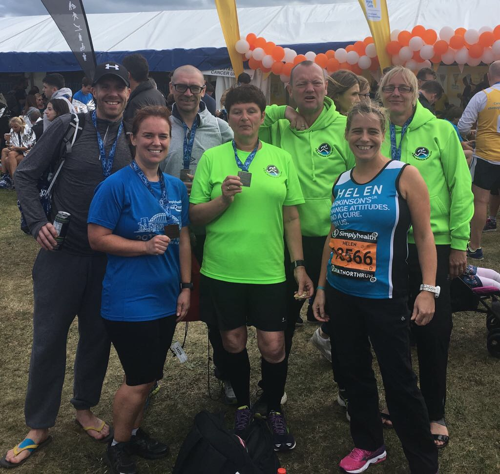 End of Great North Run